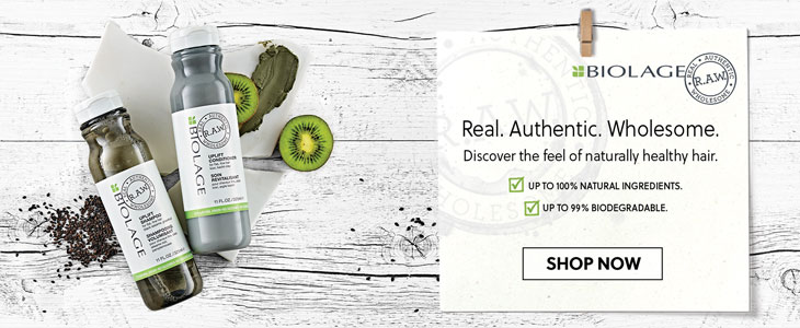 Biolage Real. Authentic. Wholesome.