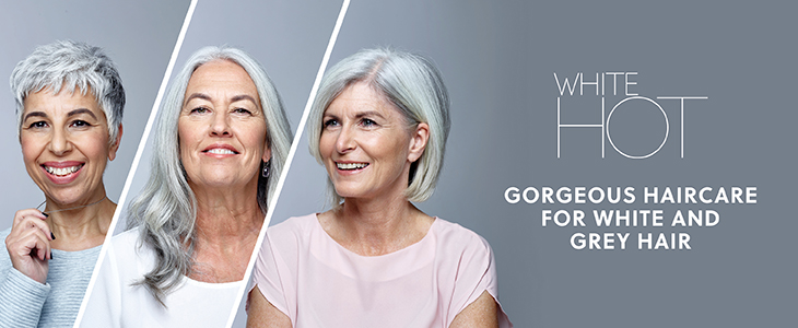 Gorgeous Haircare for White and Grey Hair