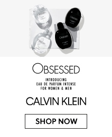 Introducing Calvin Klein Obsessed Intense