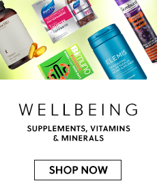 Wellbeing - Supplements, vitamins & minerals