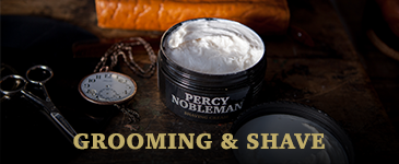 Percy Nobleman Grooming & Shave