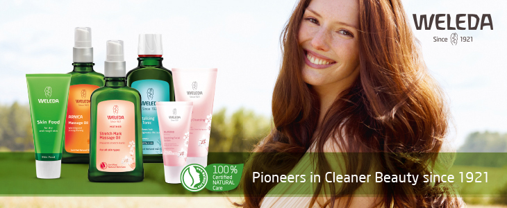Weleda- Pioneers in Cleaner Beauty since 1921