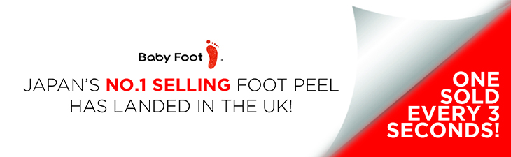 Baby Foot - Japan's No.1 Selling Foot Peel