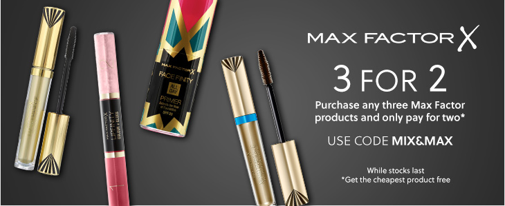 Max Factor 3 for 2