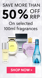 Save Up To 50% Off RRP On Selected 100ml Fragrances