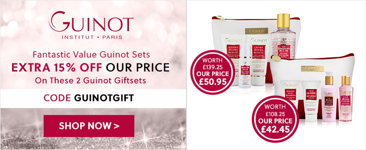 Guinot - Extra 15% Off Our Price On These 2 Guinot Giftsets