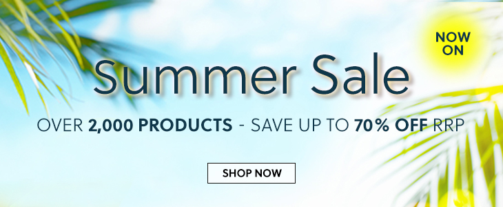 Summer Sale Now On Up To 70% Off RRP