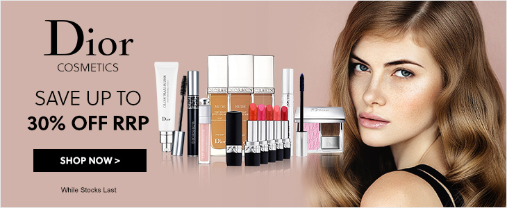 Dior Cosmetics  Up To 30% Off RRP