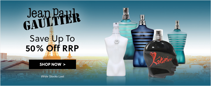 Jean Paul Gaultier Save Up To 50% Off RRP