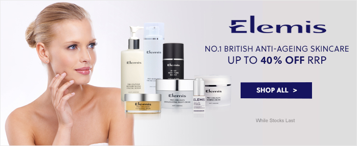 Elemis no 1 British anti-ageing skincare