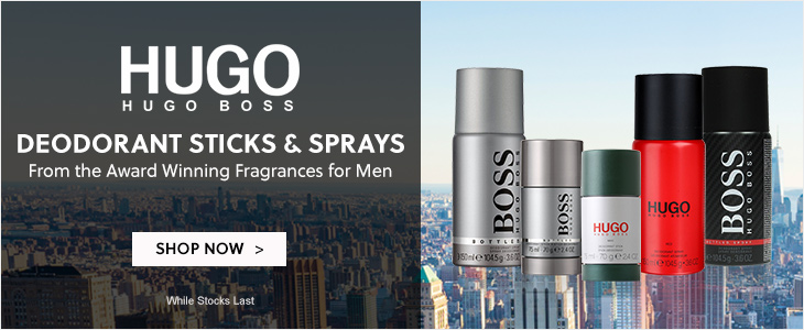 Hugo Boss Deodorant Sticks And Sprays