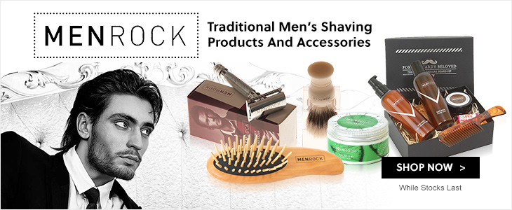 Men Rock Traditional Mens Shaving Products And Accessories