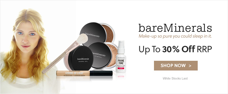 bareMinerals Up To 30% Off RRP