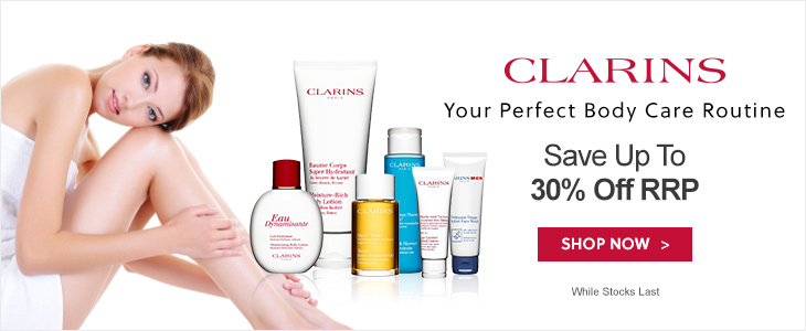 Clarins Up To 30% Off RRP