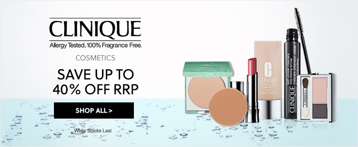 Clinique Up To 40% Off RRP