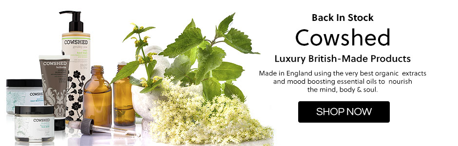 Back in stock - Cowshed   Luxury British-Made Products