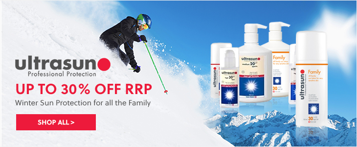 Ultrasun | Up To 30% Off RRP - Winter Sun Protection for all the Family