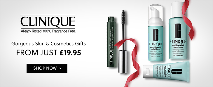 Clinique - Gorgeous Skin & Cosmetics Gifts From just £19.95