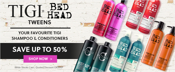 Tigi Save Up To 50% Off Your Favourite Shampoo & Conditioner