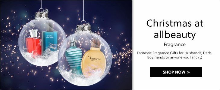 Christmas at allbeauty Aftershave