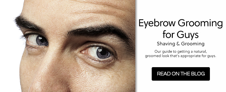Eye Brow Grooming For Guys