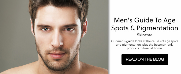 Men's Guide to Age Spots & Pigmentation