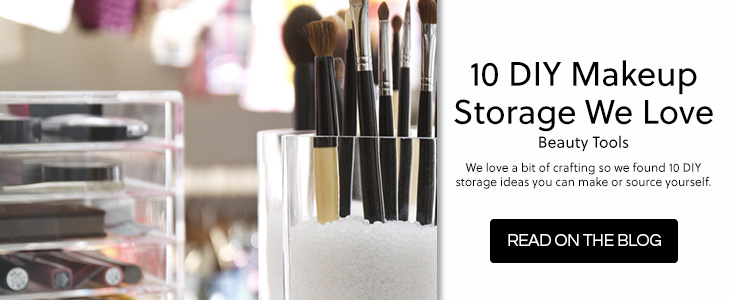 10 DIY Makeup Storage We Love