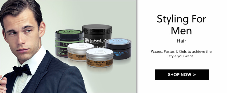 Haircare - Styling for men