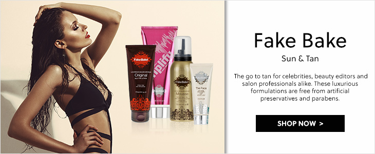 Fake Bake - The go to tanning brand
