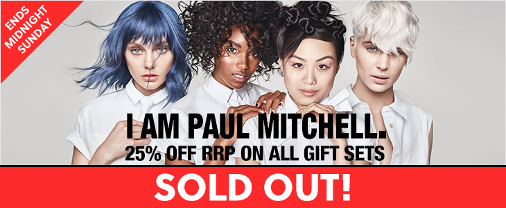Paul Mitchell - 25% Off RRP On All Gift Sets -SOLD OUT!
