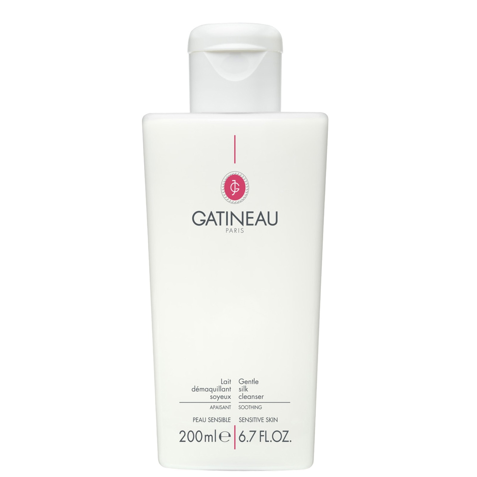 Gatineau Face Basics Gentle Silk Cleanser 200ml Skincare Twin Pack Kit Wiper Fluid Pouch 400ml X 2pcs