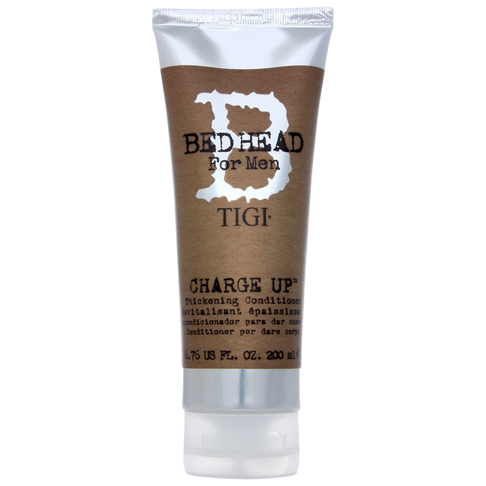 Tigi Bed Head For Men Wash And Care Charge Up Thickening
