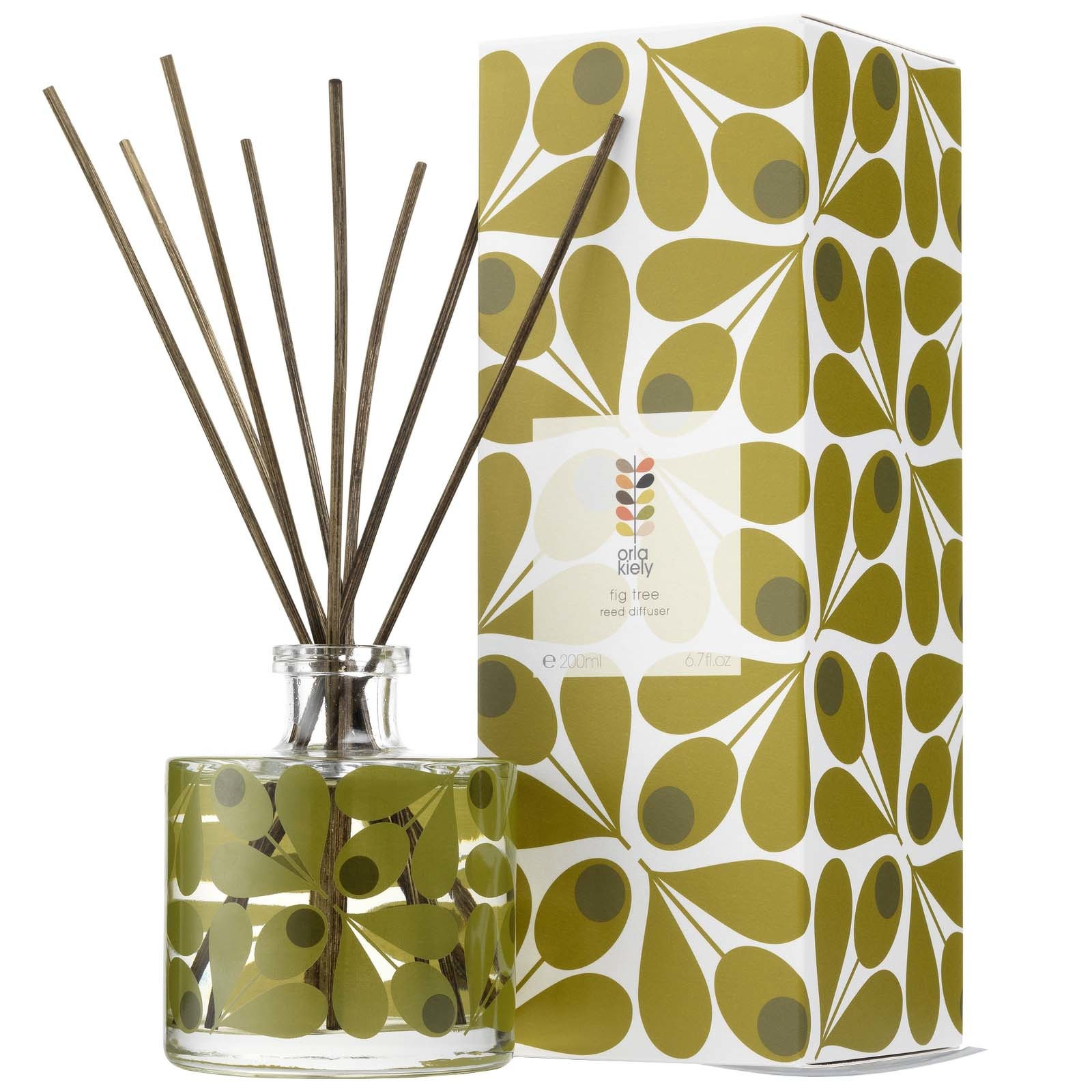 Orla Kiely Home Fig Tree Room Diffuser 200ml - Gifts & Sets