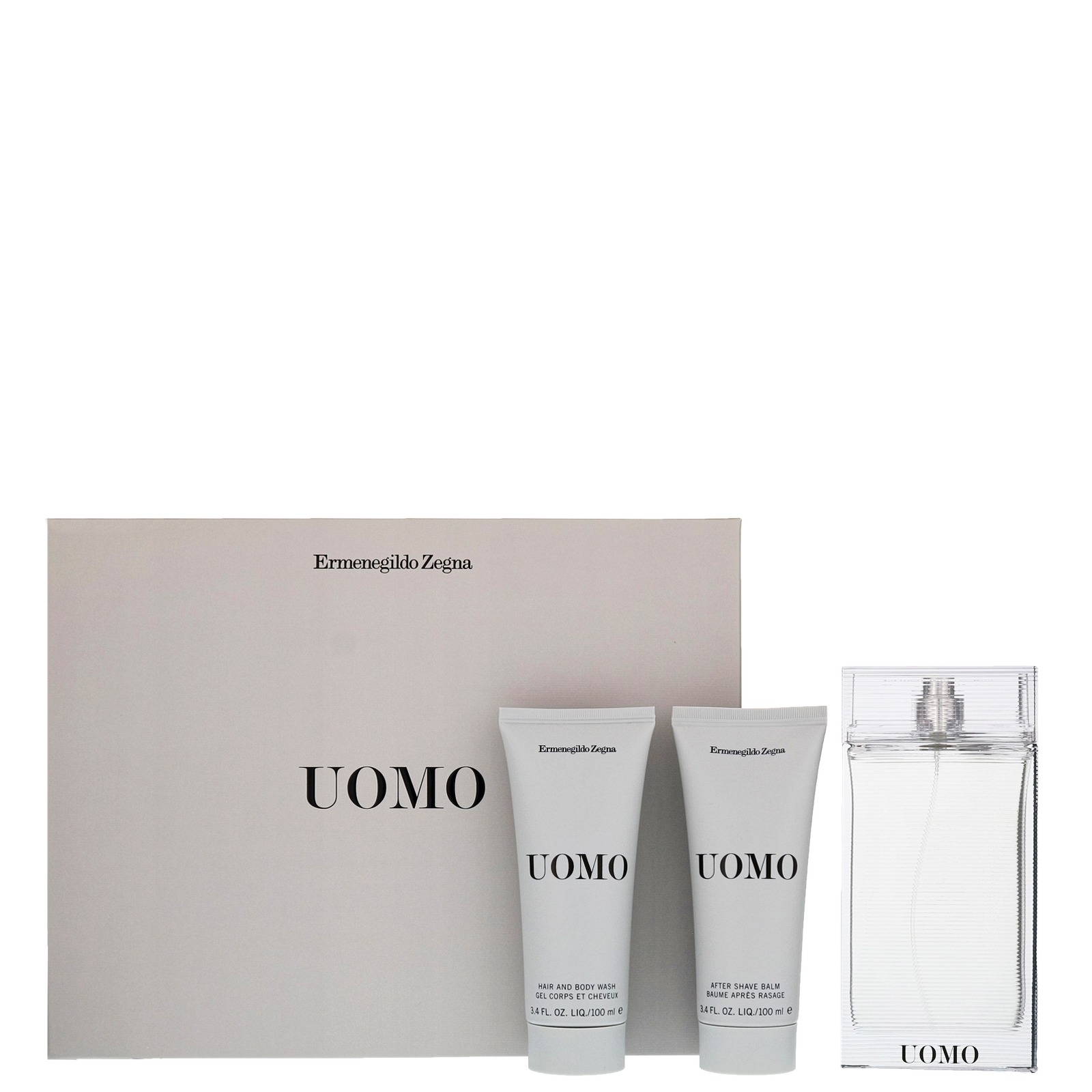 Ermenegildo Zegna Uomo Eau de Toilette Spray 100ml Gift Set - Gifts   Sets 3eb97bd8fa3