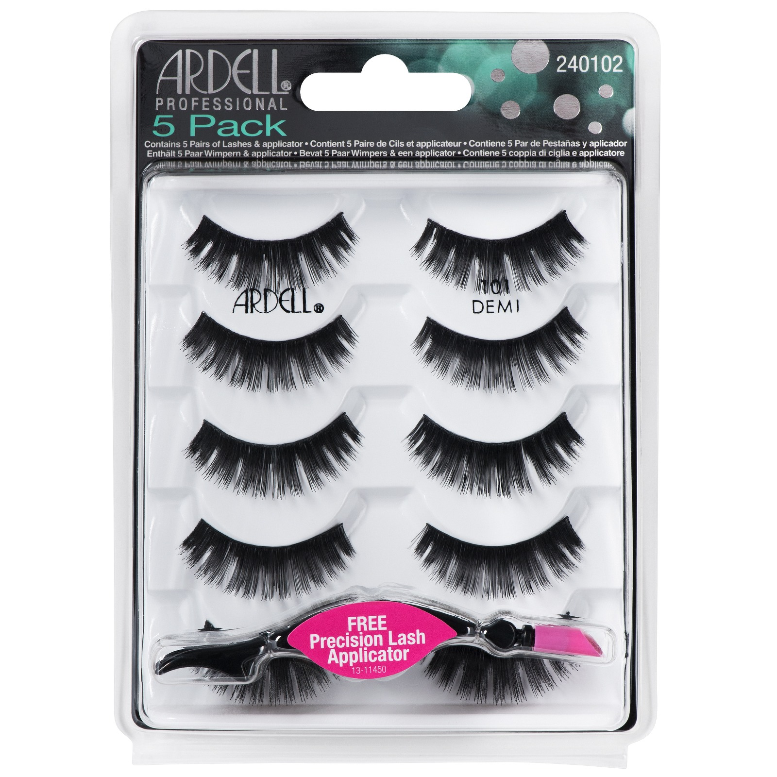 c78e721e5f4 Ardell Multipack 101 Demi Pack of 5 Pairs - Accessories