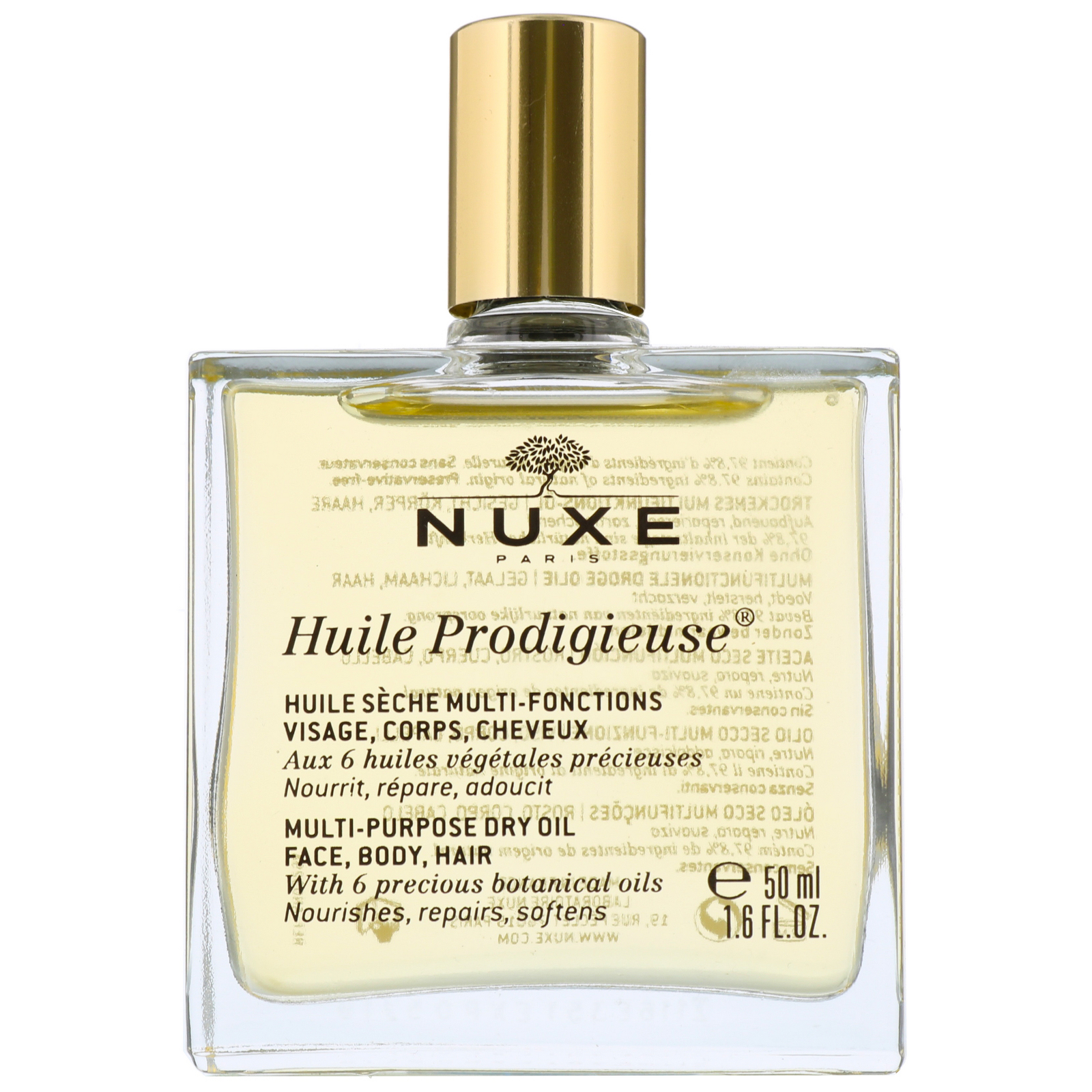 nuxe huile prodigieuse multi purpose dry oil 50ml bath body. Black Bedroom Furniture Sets. Home Design Ideas