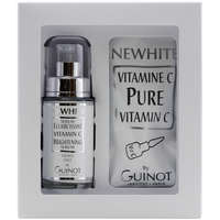 Guinot Newhite Serum Eclaircissant Vitamin C Brightening Serum 14 Day Treatment 23.5ml + 1.5g / 0.80 oz. + 0.05 oz.