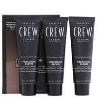 American Crew Precision Blend Mens Hair Dye 4/5 Medium Natural 3 x 40ml