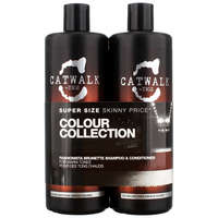 TIGI Catwalk Fashionista Brunette Tween Set: Shampoo 750ml & Conditioner 750ml