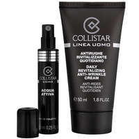 Collistar Uomo Daily Revitalising Anti Wrinkle Cream 50ml & Acqua Attiva 7.5ml Eau de Toilette