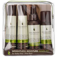 Macadamia Professional Gift Sets Weightless Moisture Shampoo 100ml, Weightless Moisture Conditioner 100ml, Weightless Moisture Conditioning Mist 100ml & Weightless Moisture Dry Oil Mist 43ml