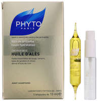 Phyto Treatments Huile d'Alès: Intense Hydrating Oil Treatment For Dry, Dull & Treated Hair x 5 ampoules