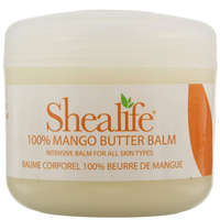 Shealife Body Butters 100% Mango Butter Body Balm 100g