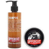 Uppercut Deluxe Duo Packs Shampoo 250ml & Featherweight 70g