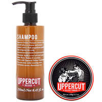 Uppercut Deluxe Duo Packs Shampoo 250ml & Deluxe Pomade 100g