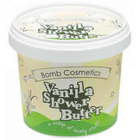 Bomb Cosmetics Cleansing Shower Butter  Chilla Vanilla 320g