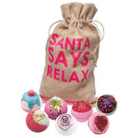 Bomb Cosmetics Christmas 2017 Santa Says Relax Sack