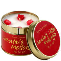 Bomb Cosmetics Christmas 2017 Santa's Little Melter: Tin Candle