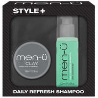 men-ü Gift Sets Style+ Clay (Worth £23.40)