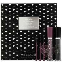 M2 Beauté Eye Care Eyelash Activating Serum 2ml & 3 Looks Black Nano Mascara 6ml